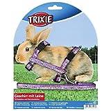 Trixie Hundegeschirr aus Nylon mit Leine für KANINCHEN und kleine Nagetier