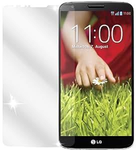 Ecultor LG G2 Schutzfolie (6 Stück) inkl. Tuch und Rakel- klare Premium Folie als Displayschutz