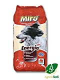 Miro Croccantini Energie Plus 20kg Streufutter komplett Lebensmittel für ausgewachsene Hunde Aller Rassen