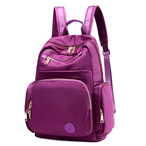 Damen schultertaschen,canvas-tasche,schulranzen-Lila Lila