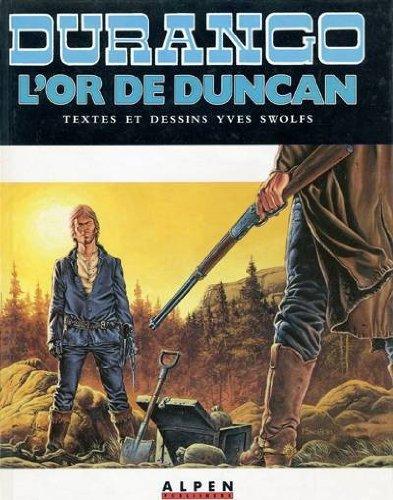 Durango t09 l'or de duncan c