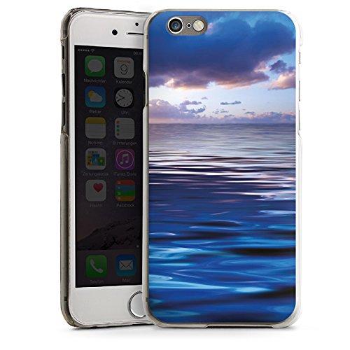 Apple iPhone 5s Housse étui coque protection Océan Coucher de soleil Mer CasDur transparent