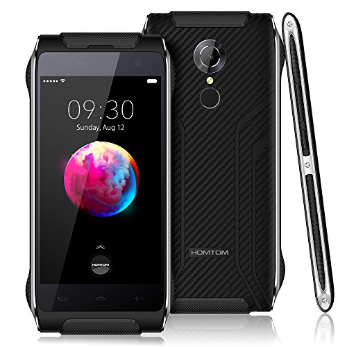 HOMTOM HT20 Pro Outdoor Smartphone- 4G FDD-LTE 4,7 Zoll Android 6.0 IP68 1.3GHz Octa Core 3G RAM + 32G ROM 8MP + 16MP Kamera 3500mAh Wasserdicht Staubdicht Schock-resistent, Ohne Vertrag