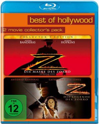 Die Maske des Zorro/Die Legende des Zorro - Best of Hollywood/2 Movie Collector's Pack [Blu-ray] -