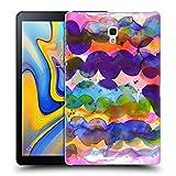 Head Case Designs Offizielle Ninola Abstrakte Farbenwellen Aquarellmalerei Ruckseite Hülle für Samsung Galaxy Tab A 10.5 (2018)
