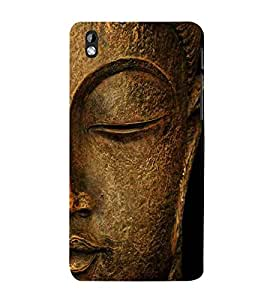 For HTC Desire 816 :: HTC Desire 816 Dual Sim :: HTC Desire 816G Dual Sim budha, god, baghwan, lord, jesus, cristrian, allah Designer Printed High Quality Smooth Matte Protective Mobile Case Back Pouch Cover by APEX