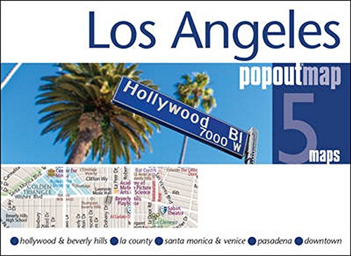 Los Angeles PopOut Map (PopOut Maps)