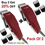 Pick Ur Needs Rocklight Professional Electric Hair Clipper Gromming Set For Men, Women (Mutlicolor)