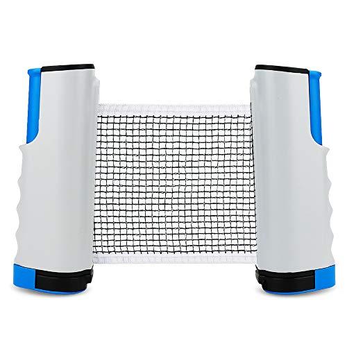 Color You Tischtennisnetze, Tischtennis Netze Justierbarer Einziehbares Netz Ping Pong Ersatznetz, Beweglicher Reisehalter - Einstellbare Länge 170 (max) x 14cm (Tennis Ping Net Pong Table)