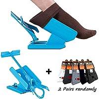 Sock Slider, Sock Aid Easy on Easy off, Kit Deslizante Helper Sock, Calzador de Medias y Calcetín, Calcetines Calzador y Calcetines Contorneado, Calzador de Calcetines.