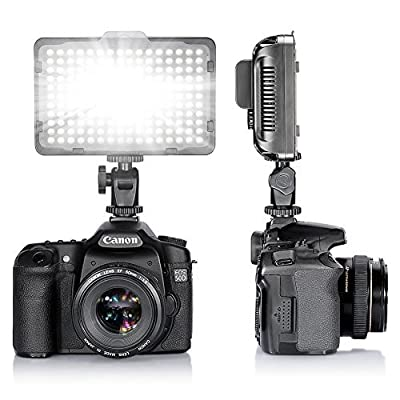 Neewer® Photo Studio 176 LED Ultra Bright Dimmable On Camera Video Light for Canon,Nikon,Pentax,Panasonic,Sony,Samsung,Olympus and Other Digital SLR Cameras (PT-176S) - low-cost UK light store.