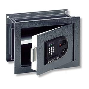 burg w chter wandtresor elektronisches zahlenschloss sicherheitsstufe b karat wt 13 e amazon. Black Bedroom Furniture Sets. Home Design Ideas