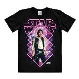 Star Wars Han Solo T-Shirt schwarz Baumwolle hochwertig - XXL