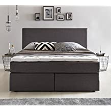 suchergebnis auf f r boxspringbett 140x200 mit bettkasten. Black Bedroom Furniture Sets. Home Design Ideas