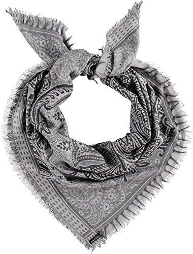 Fraas Viskose Tuch, Châle Femme Argenté - Silber (Silver 910)