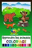 Coloriage : Apprendre les animaux: Art thérapie éducative...