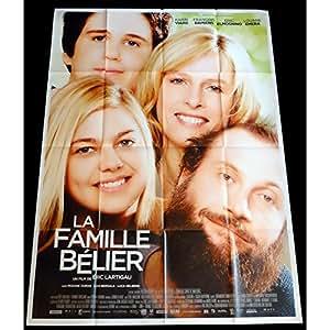LA FAMILLE BELIER Affiche de film 120x160 - 2015 - Louane Emera, Eric Lartigaud