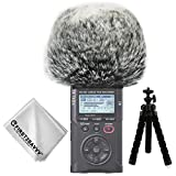 First2savvv Outdoor Portable Digital Recorders Furry Microphone Mic Windscreen Wind Muff for Tascam