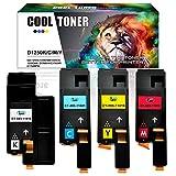 Cool Toner 4-Packung Kompatibel für Dell 1250 1250C 1350CNW 1355CN 1355CNW, C1765NF C1760NW C1765NFW, Kompatibel für 593-11016 593-11021 593-11018 593-11019