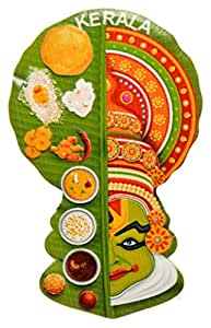 TEMPLE TREES Kerala Kathakali with Sadya Fridge Magnet