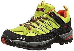 CMP Rigel 3Q54456 Damen Low Trekking Schuhe WP, grün (apple E471), 39 EU