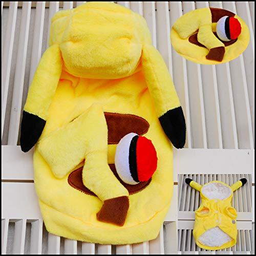 Hundekostüm Pikachu, Pokémon (Pikachu-kostüm Hund)