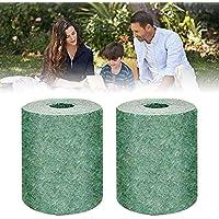 Panthem - Esterilla biodegradable para semillas de hierba 3M × 0,2 m, 2 unidades