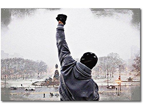 """WandbilderXXL® Leinwandbild """"Rocky Moment"""" – in 6 verschiedenen Größen. Gedruckt auf Leinwand und fertig gespannt auf Keilrahmen. Leinwandbilder zu Top Preisen."""