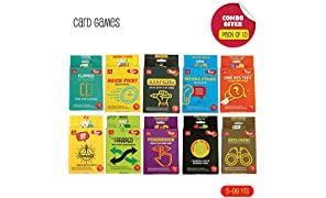 Toiing Card Games, Return Gift Combo Pack of 10 for Kids of Age 5 Years & Above