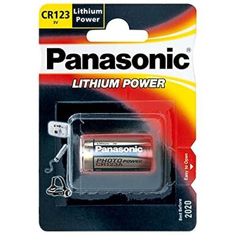 Panasonic CR123A, CR123 Photo Power Lithium batterie 5 pcs.