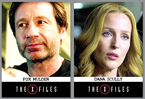 2015-nycc-exclusive-promo-cards-x-files-revival-2-cards-fox-mulder-dana-scully