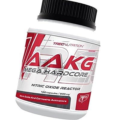 AAKG MEGA HARDCORE Nitric Oxide Reactor–Mega Dose of AAKG and Citrulline Malato–Trec Nutrition (120caps/240caps) from Trec Nutrition