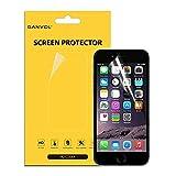 Ganvol-Pellicola protettiva per schermo trasparente HD per iPhone 6