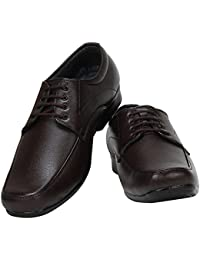 WENZEL Stylish Color Formal Shoes For Men/Leather Trendy Shoes/Formal Derby Lace-up Shoes For Men_WZ_4348