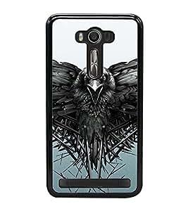 Fuson Designer Back Case Cover for Asus Zenfone Selfie ZD551KL (bird an animal eyes peak tree )