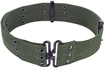 Mens Army Military Combat Pistol SWAT Utility Surplus Belt Green Surplus New