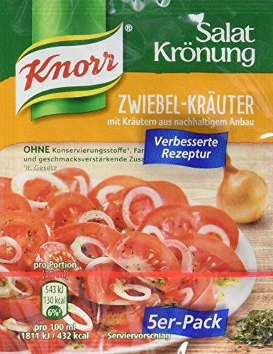 Knorr Salatkrönung Zwiebel Kräuter Dressing, 15er Pack (15 x 40 g)