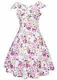 Vintage 1950's inspirierte Rockabilly Swing Dress
