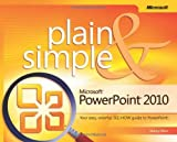 [ MICROSOFT POWERPOINT 2010 PLAIN AND SIMPLE BY MUIR, NANCY](AUTHOR)PAPERBACK