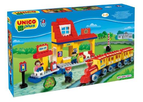 COSTRUZIONE Unico City-Treno Grande Ferrovia 113pz 8541