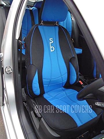 Citroën Berlingo Multispace Housses de siège auto SB Ensemble complet–Recaro Bleu