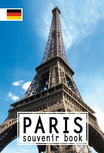 Paris Souvenir Book Allemand