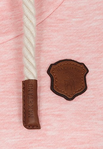 Naketano Female Hoody Schmierlappen Sugar Pink Melange