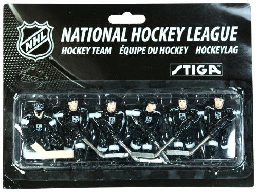 Stiga NHL Los Angeles Kings Tisch Top Hockey Game Players Team Pack