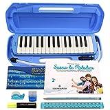 Kit Melodica Diamonica ffalstaff ® 32 Tasti, tipo Angel | kit cancelleria e Metodo'Suona la Melodica'