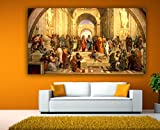 Canvas Painting - The school of Athens -...