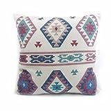 MAYUAN520 Zierkissen High-End Digital Print Beige Türkisch Ethnische Muster Kissenbezug Kissenbezug Für Sofa Vintage Look Home Decor