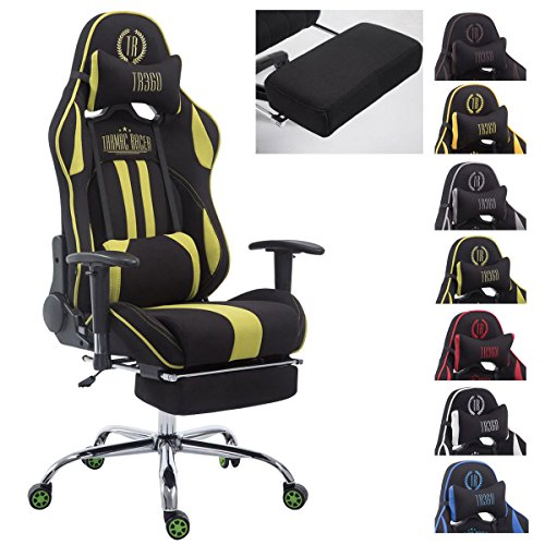 clp racing b rostuhl limit stoff xl gaming stuhl stoff. Black Bedroom Furniture Sets. Home Design Ideas
