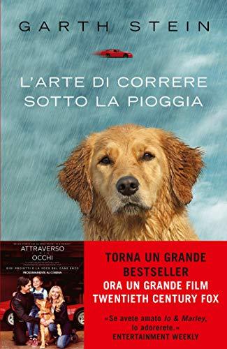 arte correre sotto pioggia libro cane
