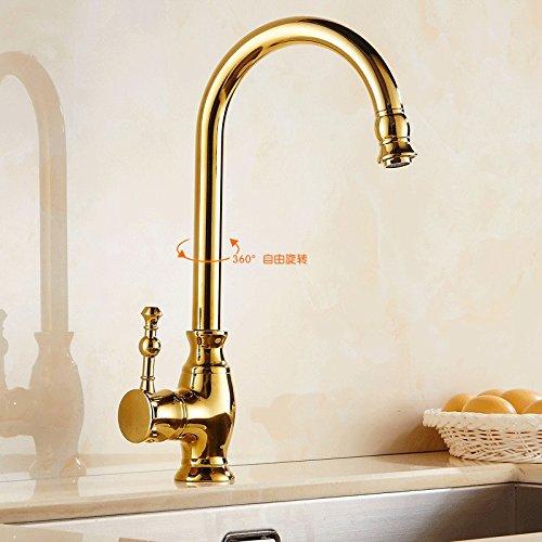 contemporary-kitchen-tap-swivel-spout-sink-mixer-tap-yellow